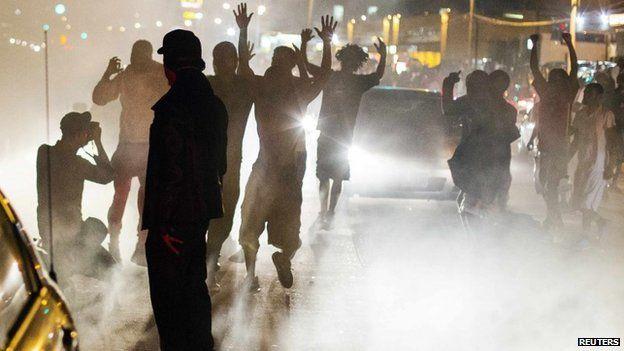 Ferguson protest