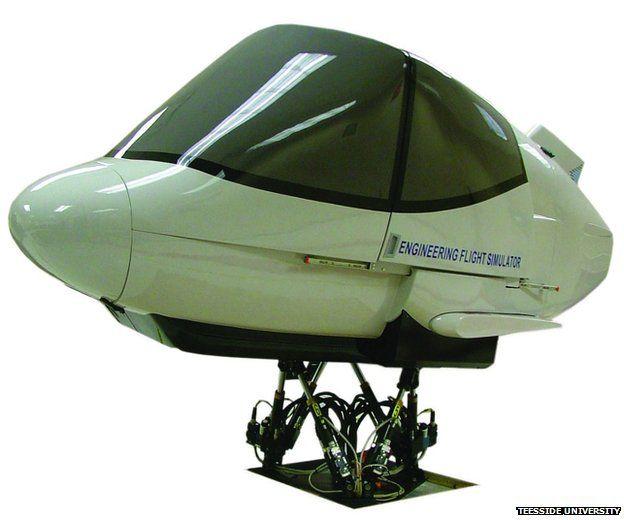 Engineering flight simulator