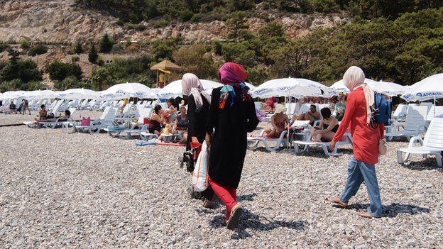 Sarisu Beach in Antalya