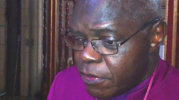 Archbishop of York, Dr John Sentamu