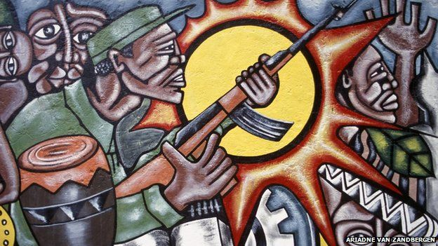 After winning independence Mozambique's Frelimo fighters became the governing party but were soon pitched into a civil war against rebels backed by neighbouring South Africa.