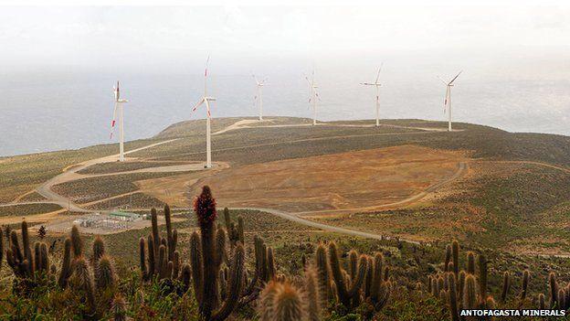 Panoramic view of El Arrayan