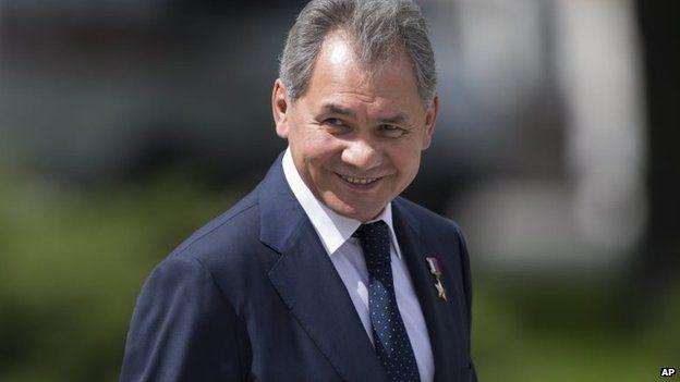 File photo: Russian Defence Minister Sergei Shoigu, 22 June 2014