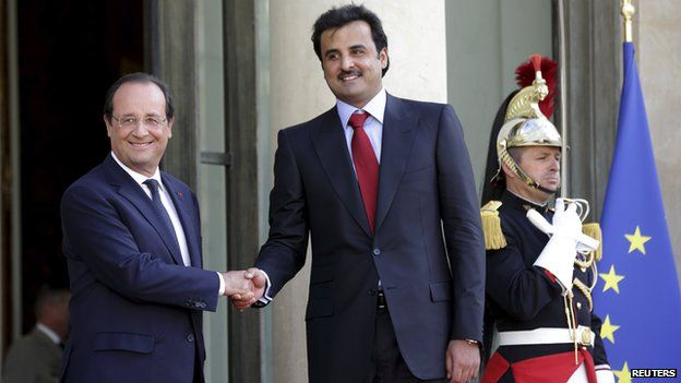 Qatar's Tamim bin Hamad al-Thani
