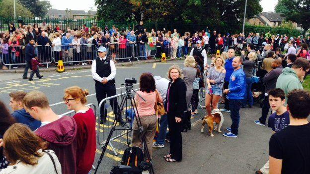 School crowds