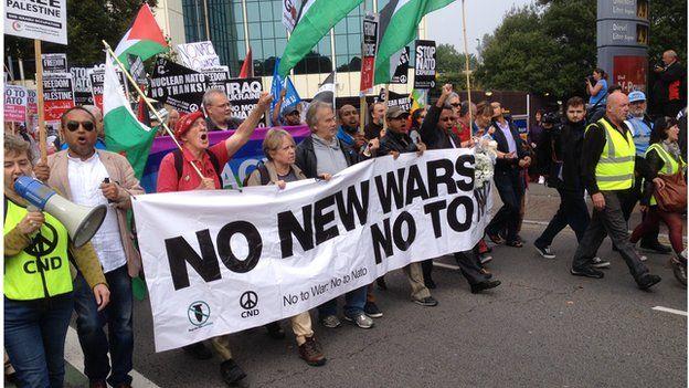 Gorymdaith heddwch Nato