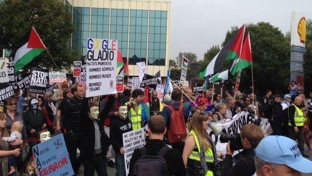 Protest Nato Casnewydd