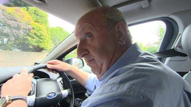 Taxi driver John O'Hagan