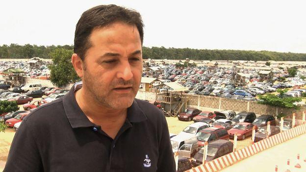 Lebanese market owner