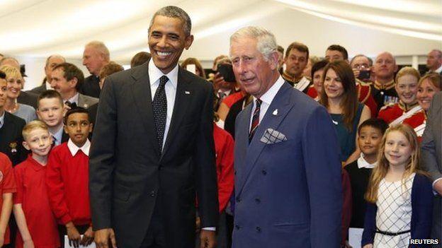Obama a Charles