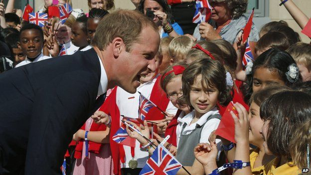 Prince William at Oxford University