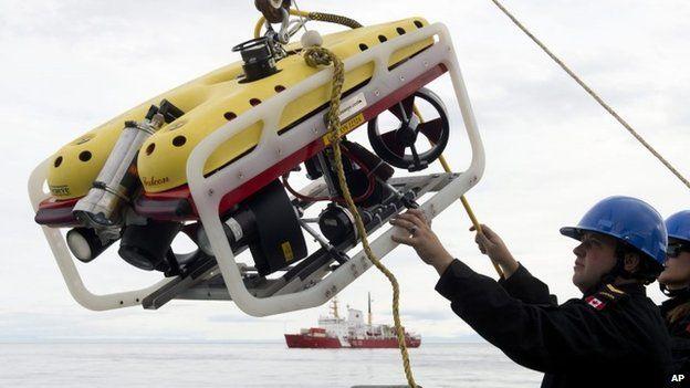 A crew member of HMCS Kingston