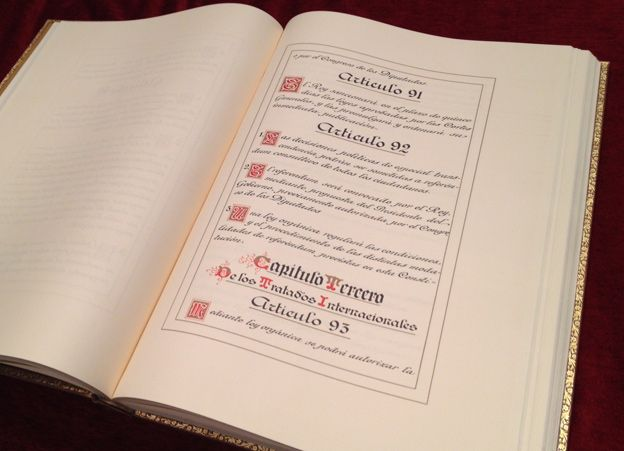 Spanish constitution