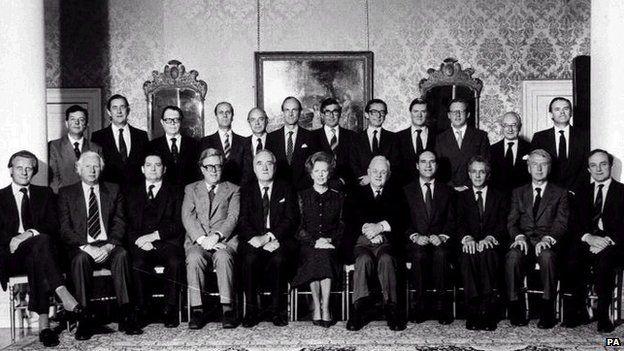 Margaret Thatcher's 1983 cabinet