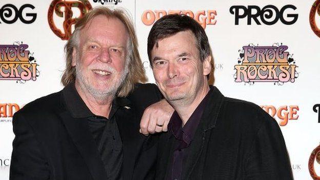 Rick Wakeman and Ian Rankin