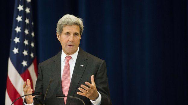 John Kerry US Secretary of State 3 Sept 2014