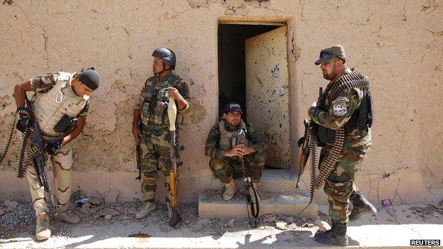 Shia Mehdi fighters in Iraq 12 Sept 2014