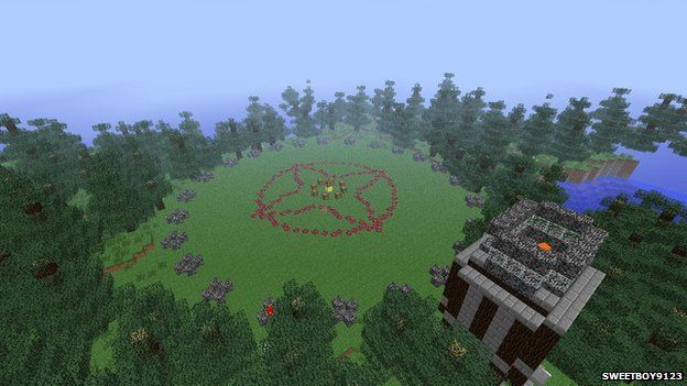 Hunger Games in Minecraft