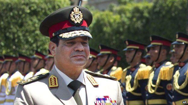 Egyptian President Abdul Fattah al-Sisi (April 2013)