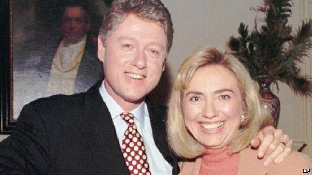 Hillary and Bill Clinton, 1993 picture