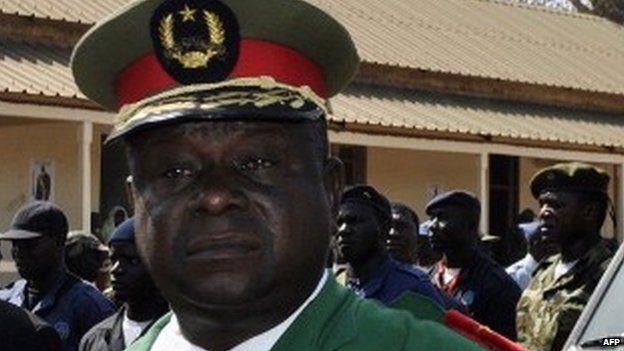 General Antonio Indjai in January 2012