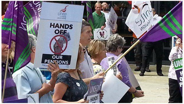 protest aberystwyth