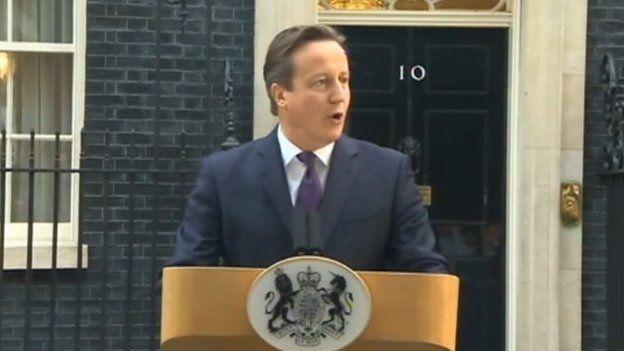 Araith David Cameron