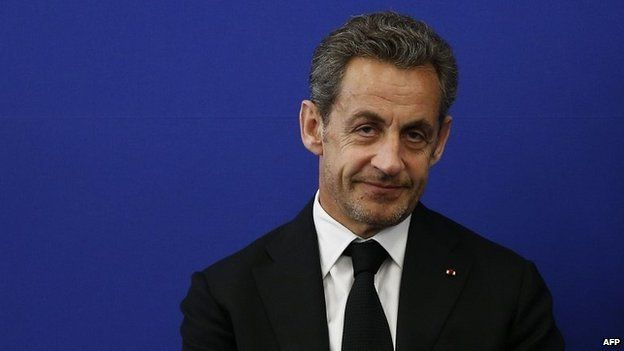 Former French president Nicolas Sarkozy - 10 March 2014
