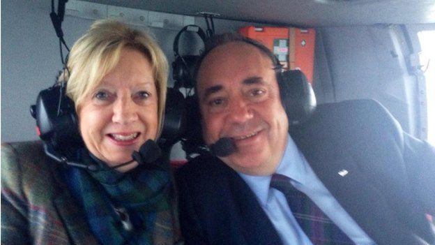 Moira and Alex Salmond
