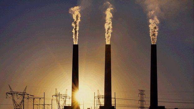 Coal fired power plant in Arizona