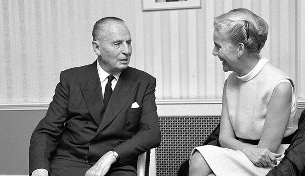 Sir Oswald and Diana Mosley