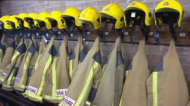 Firefighter protective clothing