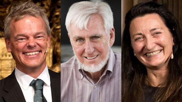 Edvard Moser, John O'Keefe and May-Britt Moser