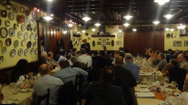 Far-right meeting in Budapest