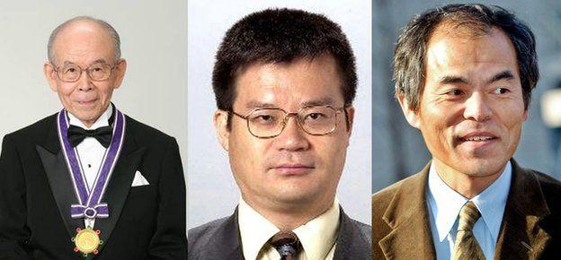 Nobel Physics winners