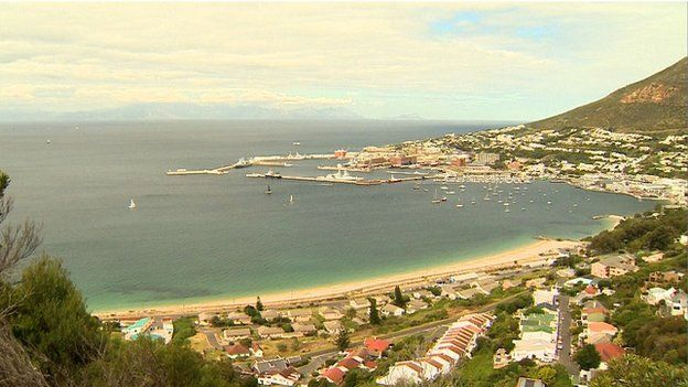Bay of Simon's Town, South Africa (October 2014)