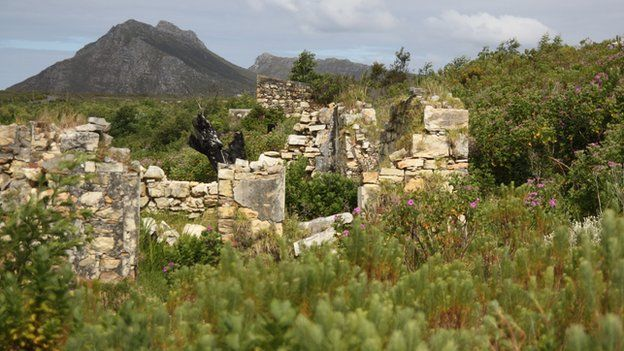 Ruins of home, Western Cape, South Africa (October 2014)