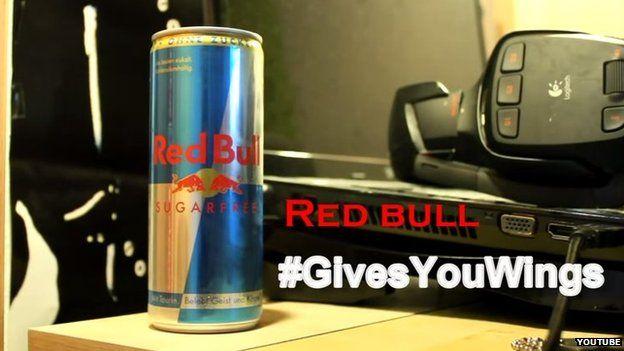 Red Bull advert