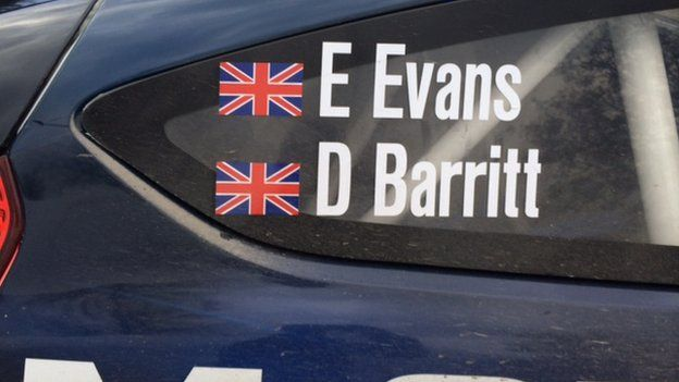 Car Elfyn Evans