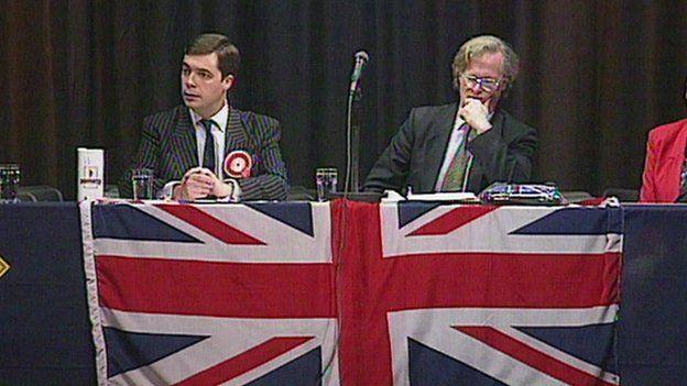 Nigel Farage in 1997