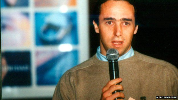 Marcos Galperin launching the business in 1999