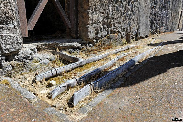 Lead pipes - Herculaneum