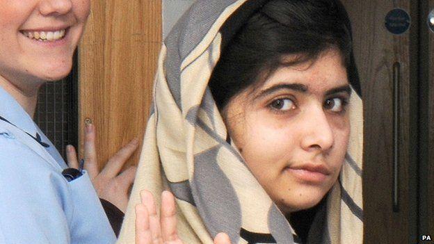 Malala leaving hospital