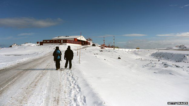 Chilean base in Antarctica
