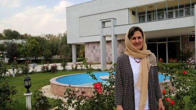 Afghanistan First Lady Rula Ghani Moves Into The Limelight Bbc News