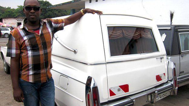 Kwashi Daku and his rental hearses