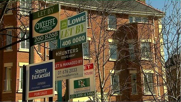 House prices are said to be up by a quarter in Dublin in the past year