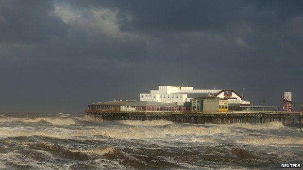 Pier in Blackpool