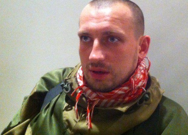 Alexander Matyushin, who commands just over 100 pro-Russian rebels