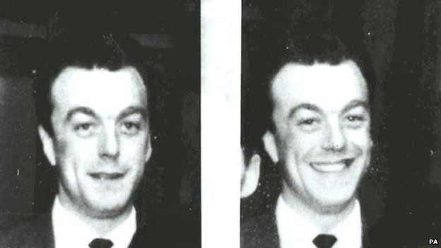 Two images of Harry Roberts